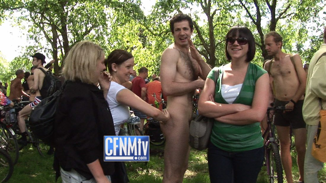 women seeing boys naked