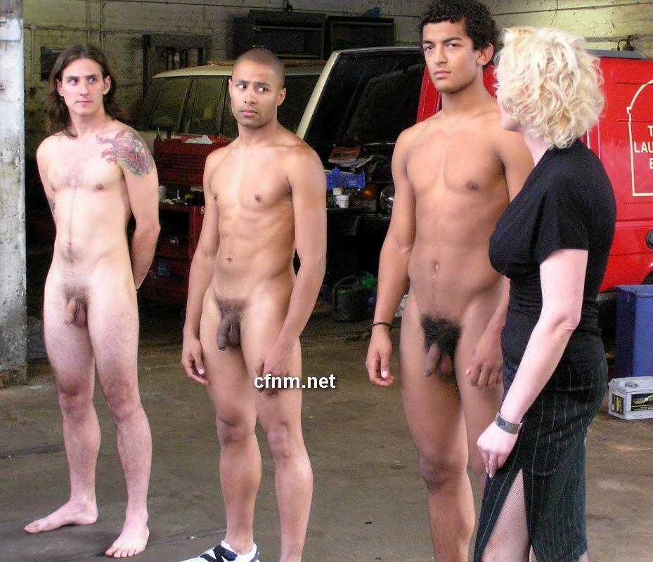 young skinny nude guys